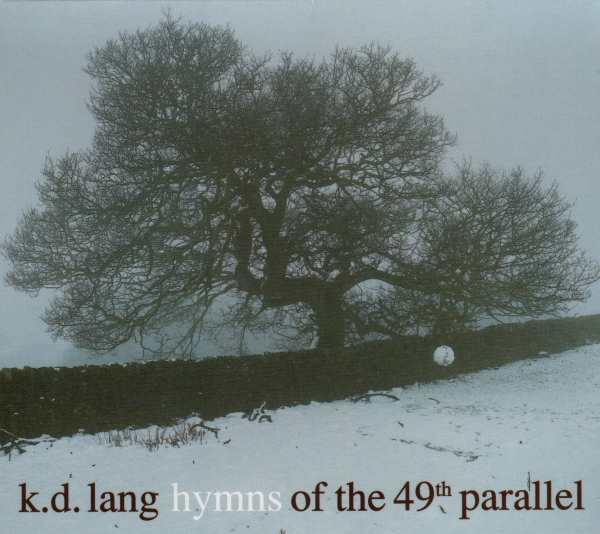 k.d. lang Hymns of the 49th Parallel cover art