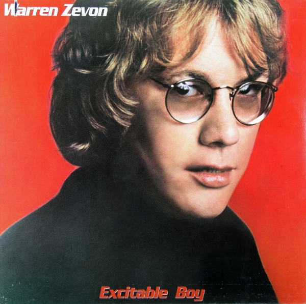 Warren Zevon Excitable Boy cover art