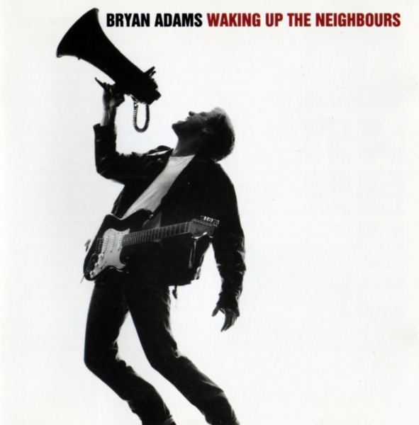Bryan Adams Waking Up the Neighbours cover art