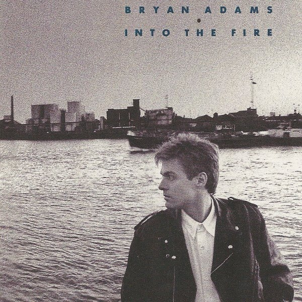 Bryan Adams Into the Fire cover art