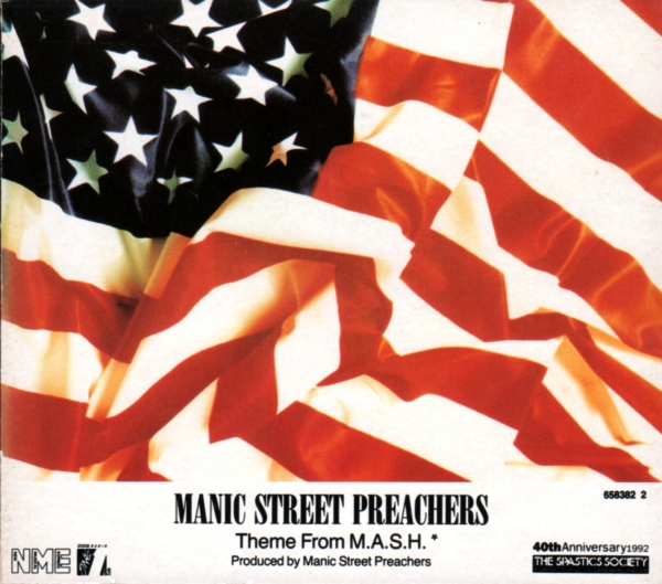 Manic Street Preachers Theme From M.A.S.H. (Suicide Is Painless) Cover Art