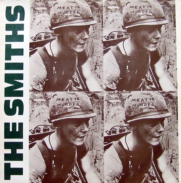 The Smiths Meat Is Murder cover art
