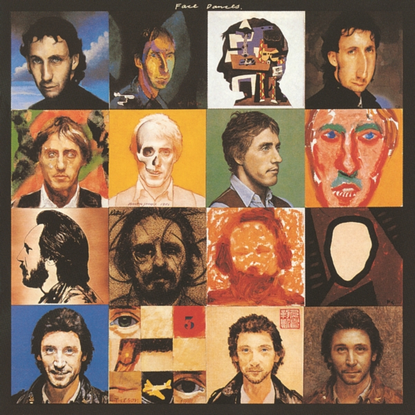 The Who Face Dances cover art