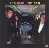 The Who It's Hard cover art