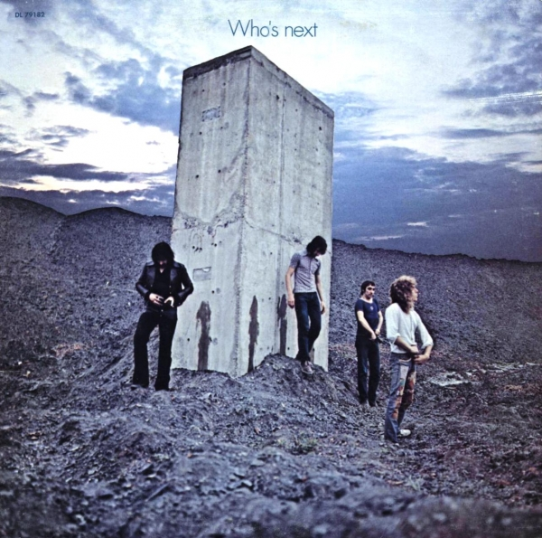 The Who Who's Next cover art