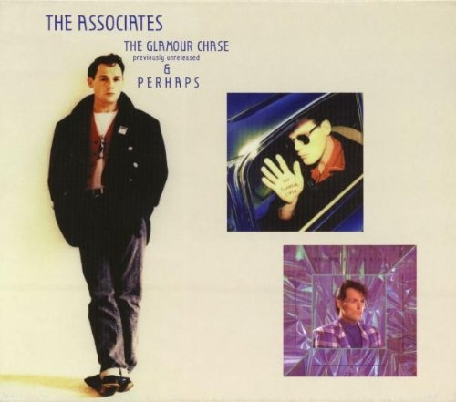 The Associates The Glamour Chase & Perhaps cover art