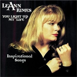 LeAnn Rimes You Light Up My Life: Inspirational Songs cover art