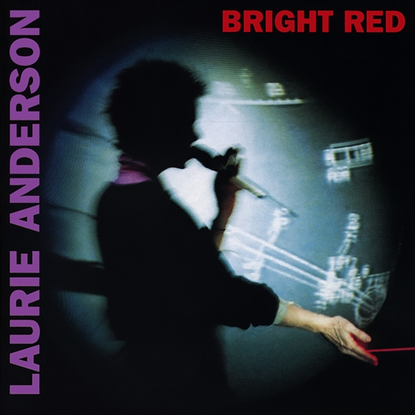 Laurie Anderson Bright Red Cover Art