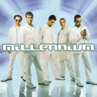 Backstreet Boys Millennium cover art