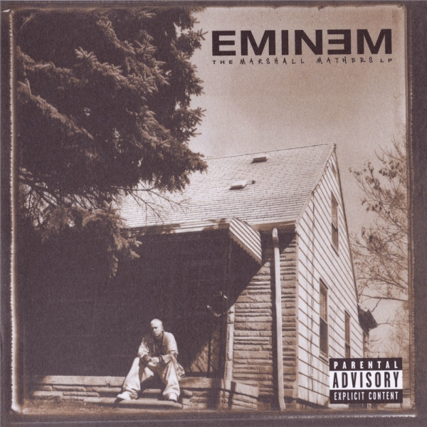 Eminem The Marshall Mathers LP cover art