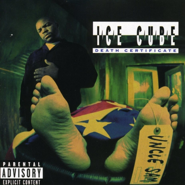 Ice Cube Death Certificate cover art