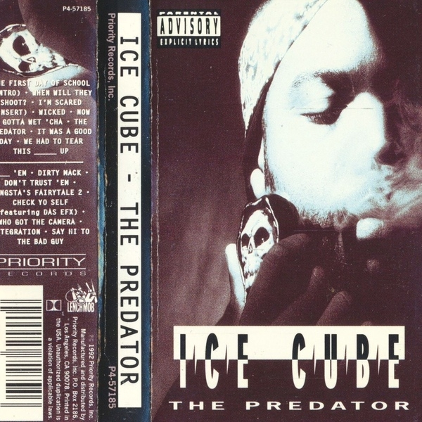 Ice Cube The Predator cover art