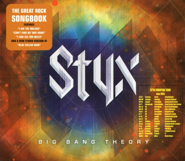 Styx Big Bang Theory cover art