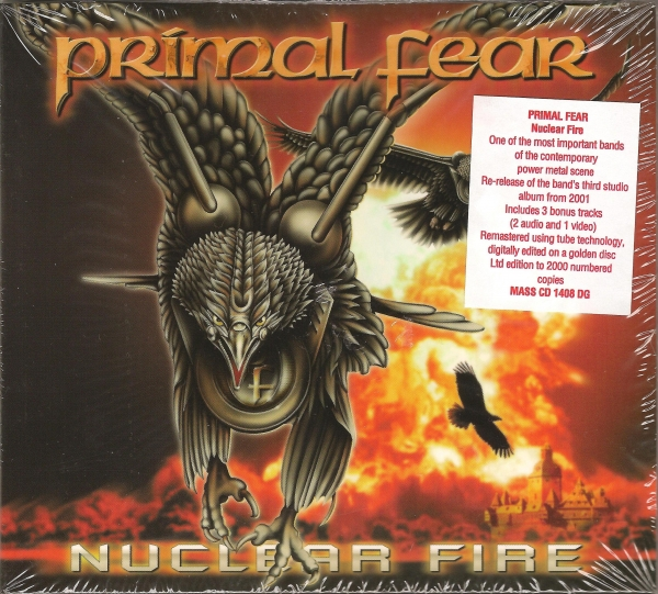 Primal Fear Nuclear Fire cover art