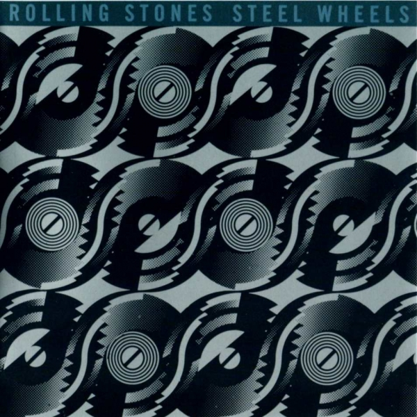 The Rolling Stones Steel Wheels cover art