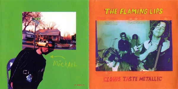 The Flaming Lips Clouds Taste Metallic cover art