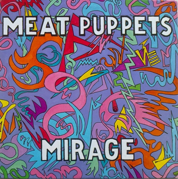 Meat Puppets Mirage cover art