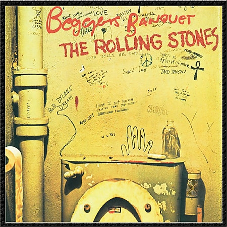 The Rolling Stones Beggars Banquet cover art