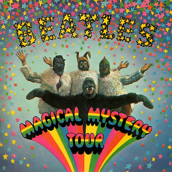 The Beatles Magical Mystery Tour cover art