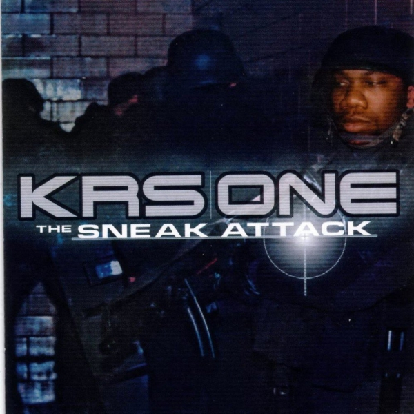 KRS‐One The Sneak Attack cover art