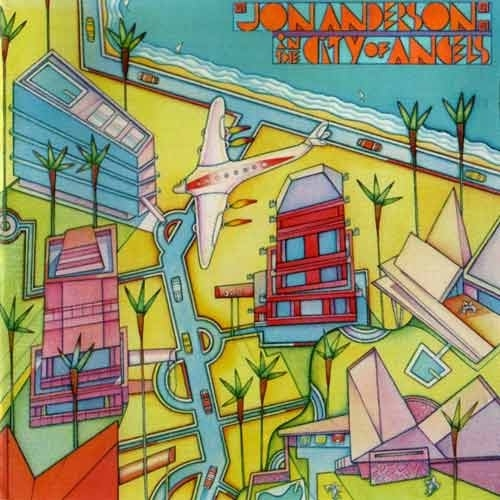 Jon Anderson In the City of Angels cover art