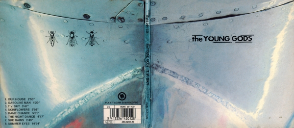 The Young Gods T.V. Sky cover art
