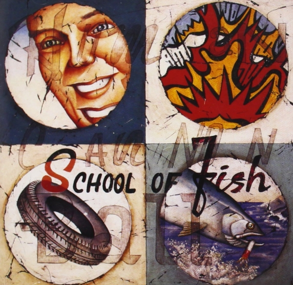School of Fish Human Cannonball cover art