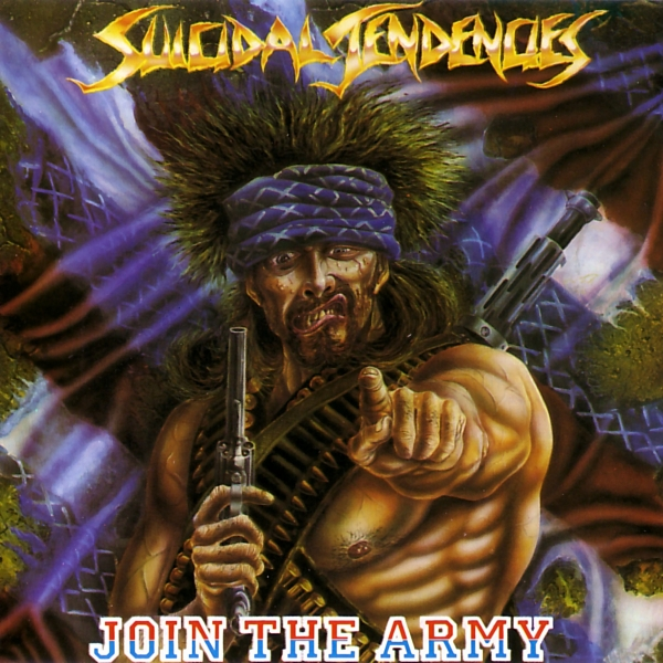 Suicidal Tendencies Join the Army Cover Art