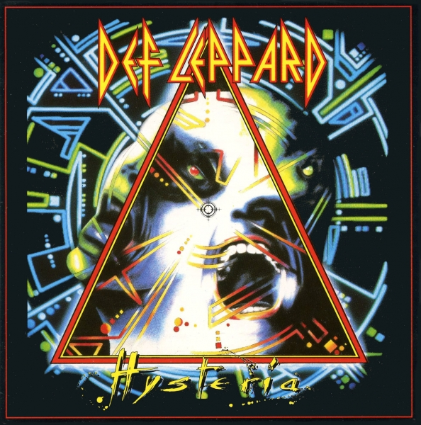 Def Leppard Hysteria cover art