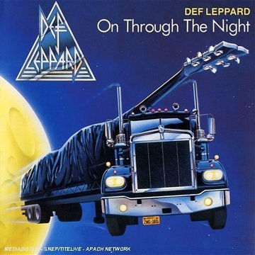 Def Leppard On Through the Night cover art