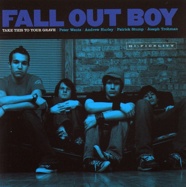 Fall Out Boy Take This to Your Grave cover art