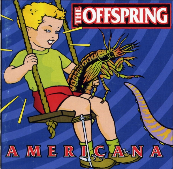 The Offspring Americana cover art
