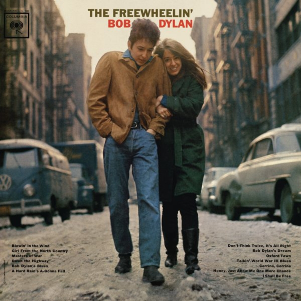 Bob Dylan The Freewheelin' Bob Dylan cover art