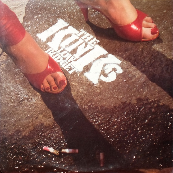 The Kinks Low Budget cover art