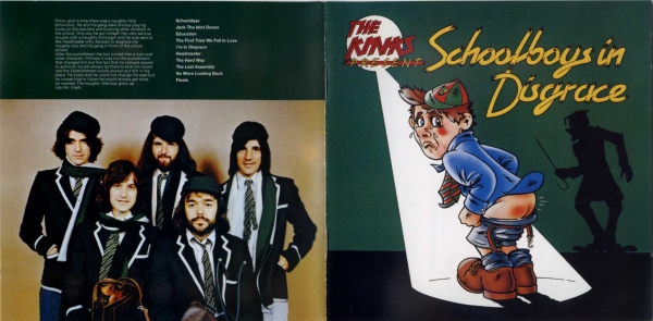 The Kinks Schoolboys in Disgrace cover art