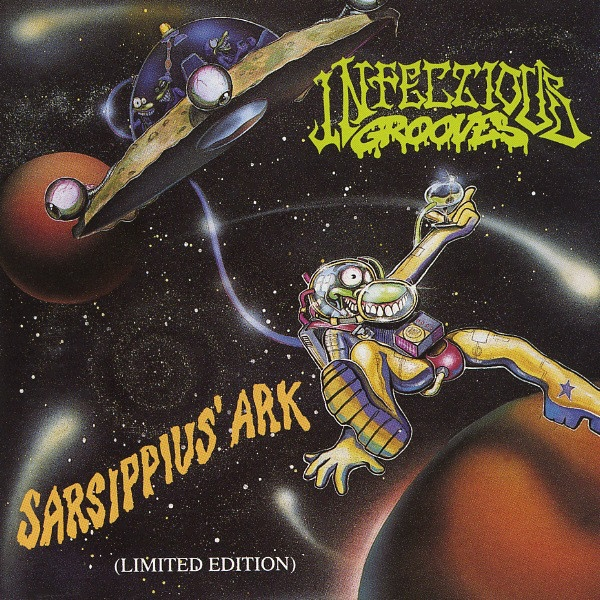 Infectious Grooves Sarsippius' Ark cover art