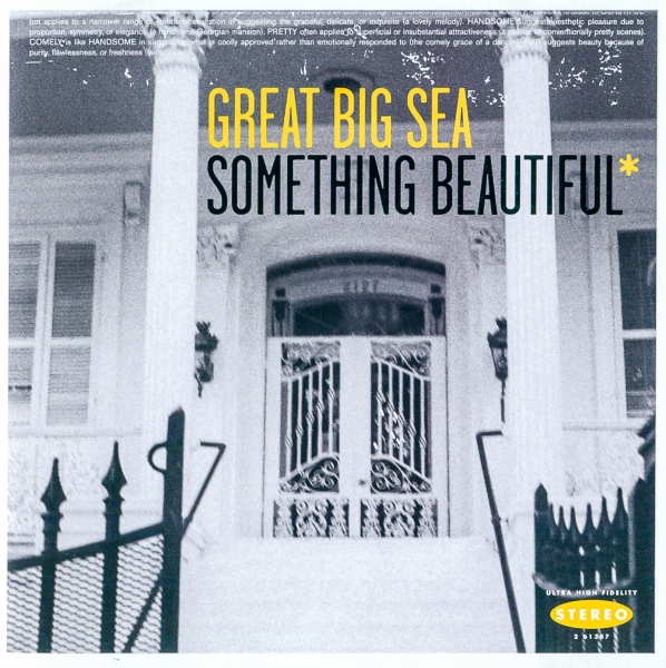 Great Big Sea Something Beautiful* cover art