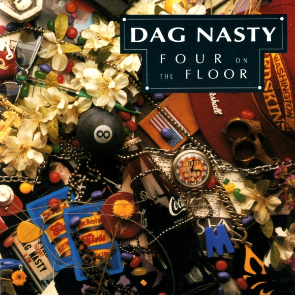 Dag Nasty Four on the Floor cover art