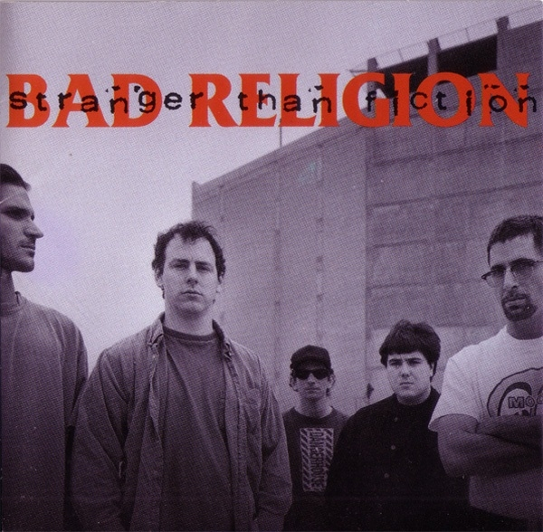 Bad Religion Stranger Than Fiction cover art
