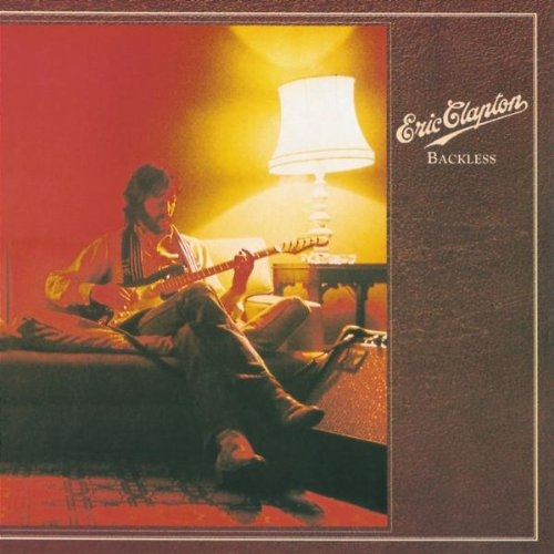 Eric Clapton Backless cover art