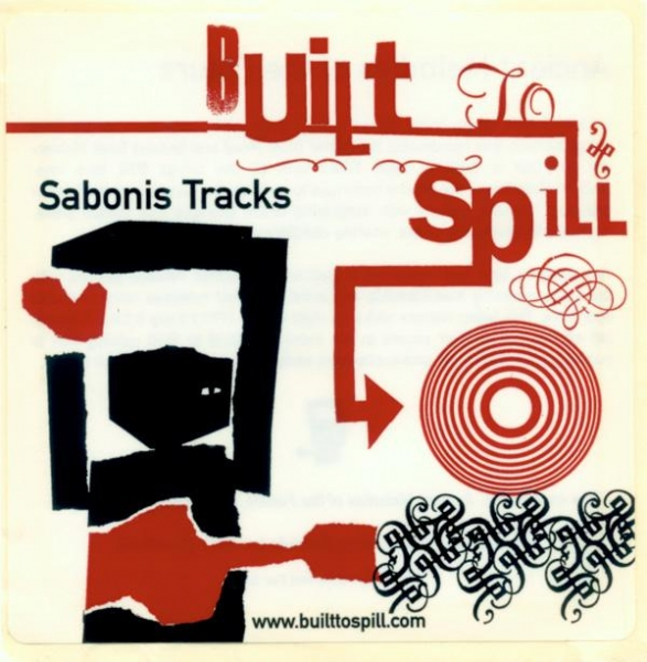 Built to Spill Sabonis Tracks Cover Art