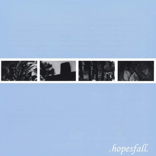 Hopesfall The Frailty of Words cover art