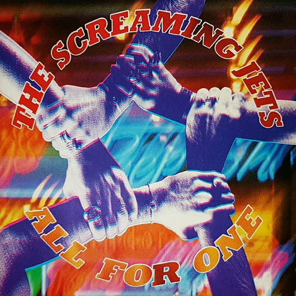 The Screaming Jets All for One Cover Art