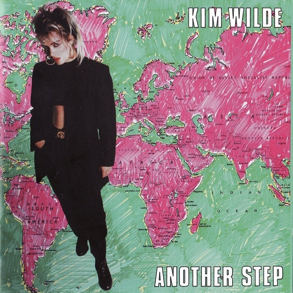 Kim Wilde Another Step cover art