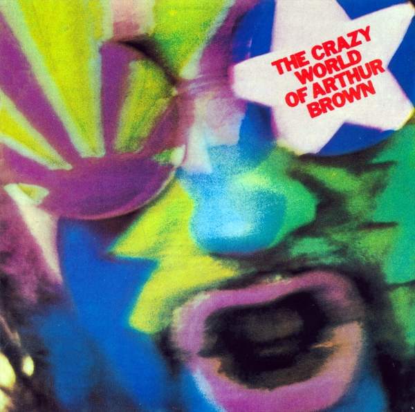 The Crazy World of Arthur Brown The Crazy World of Arthur Brown Cover Art