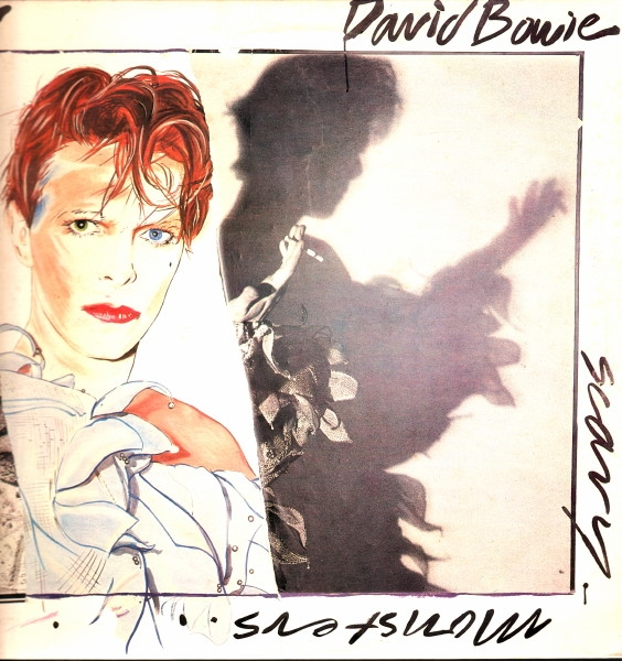 David Bowie Scary Monsters… and Super Creeps cover art