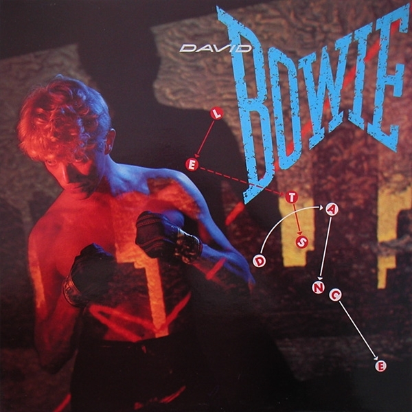 David Bowie Let's Dance cover art