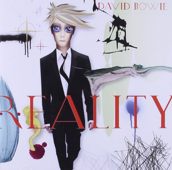 David Bowie Reality Cover Art