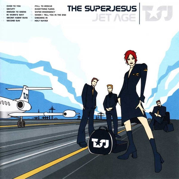 The Superjesus Jet Age Cover Art