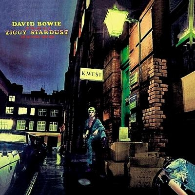 David Bowie The Rise and Fall of Ziggy Stardust and the Spiders From Mars cover art